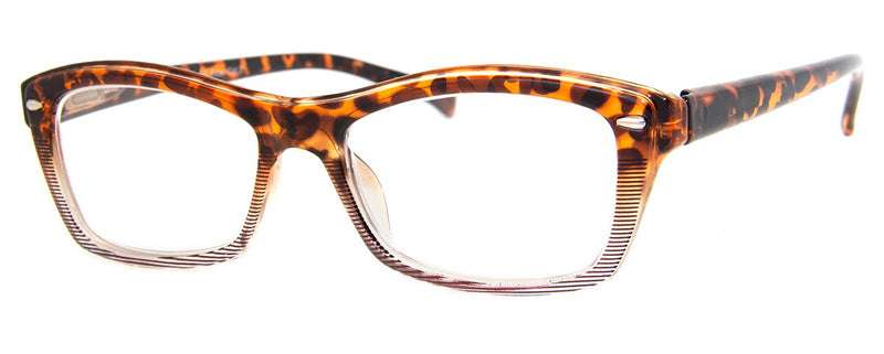 Tortoise - Cute, Two-Tone, Womens Reading Glasses