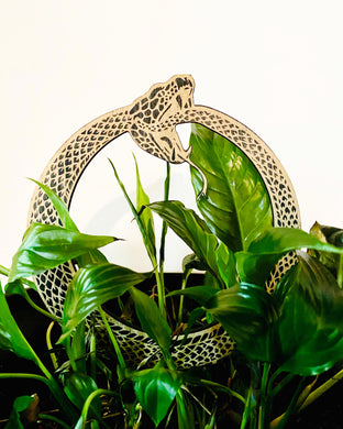 Snake Decoration Plant Support