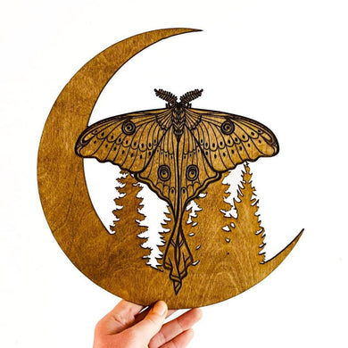 Luna Moth Wall Hanging