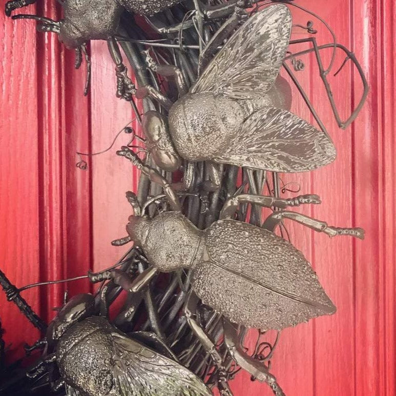 Bunch O' Bugs Insect Wreath