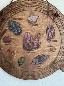 Crystal Board Wall Hanging