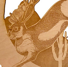 Load image into Gallery viewer, Jackalope Wall Hanging