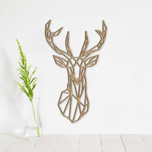Load image into Gallery viewer, Geometric Deer Wall Art