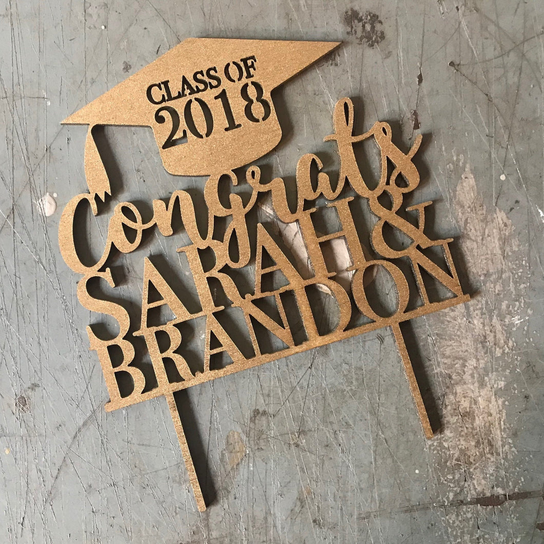 Custom Graduation Cake Topper