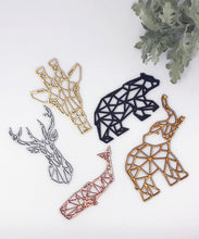 Load image into Gallery viewer, Geometric Deer Ornament