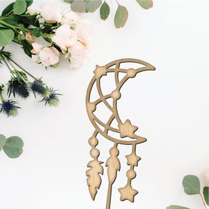 Moon and Stars Cake Topper