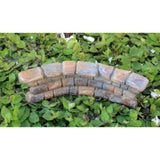 Miniature Stone Rock Wall for Fairy Gardens or Miniature Gardens