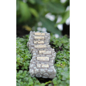 Miniature Stone Rock Walkway for Fairy Gardens or Miniature Gardens