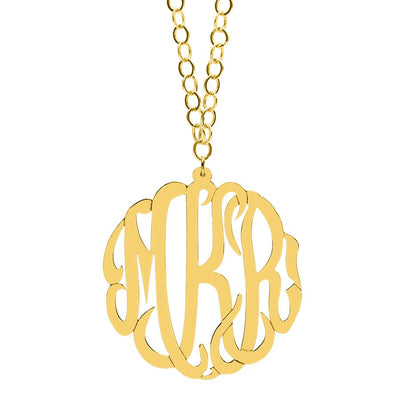 "2"" Monogram Necklace"