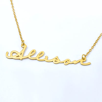 Name Necklace of your Choice with FREE Initial Necklace!