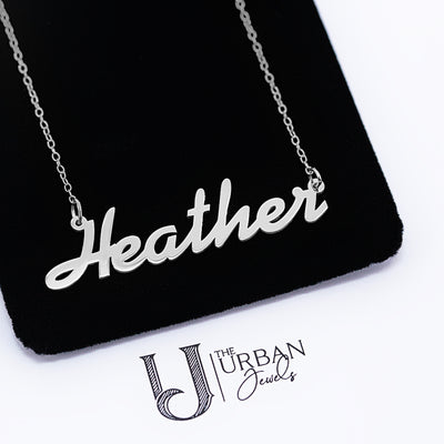 Hand Script Name Necklace