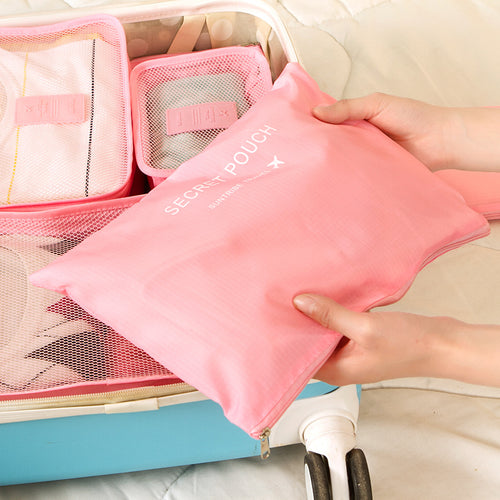 High Quality Mesh Luggage Organizer for Clothing, Cosmetics, Travel