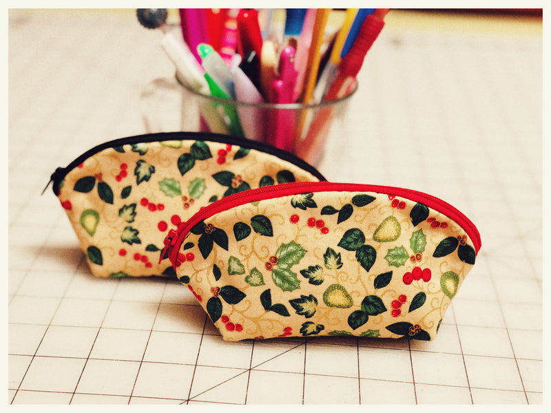 How to sew a simple coin pouch