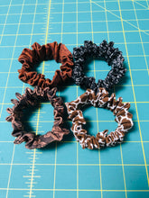 Load image into Gallery viewer, scrunchie; hair scrunchies; hair ties; cotton scrunchie