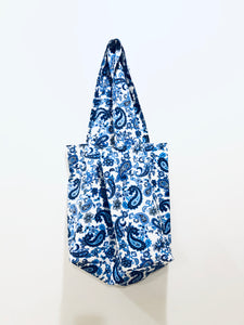 Blue Parsely Eco-friendly grocery tote bag; Shopping bag | BL Handmade