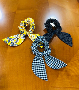 scrunchie bows for woman, hair tie for woman; Scrunchies