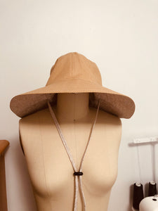 Hat pattern, bucket hat pattern; DIY hat pattern;  wider brim hat; Fashion hat