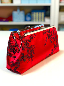 Red Blossom Clutch