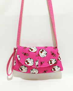 Crossbody Bags - Pink Hello Kitty