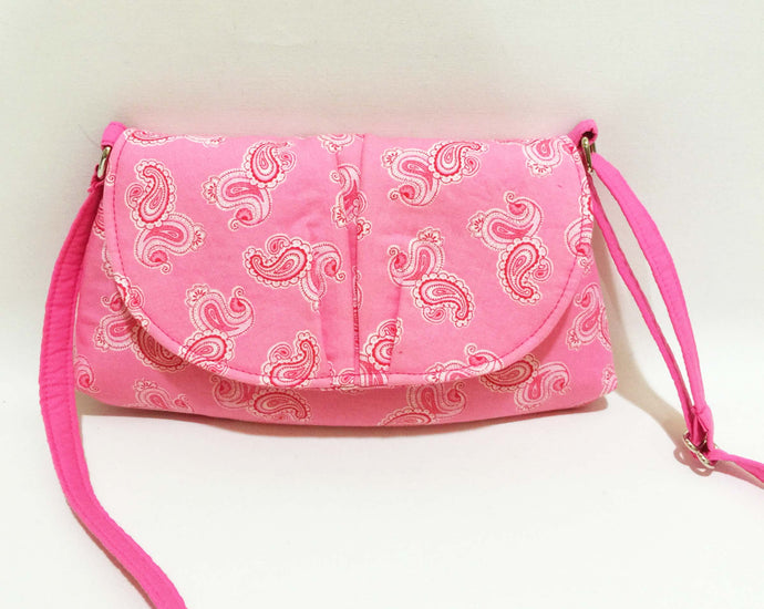 Crossbody Bags - Pink parsley
