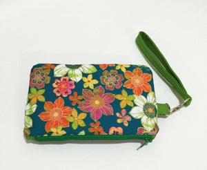 Fabric Wallets and purses; Purses; wallets with card slots; cotton wallets