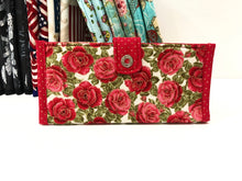 Load image into Gallery viewer, Red & pink series checkbook covers for all; Stylish checkbook covers for women