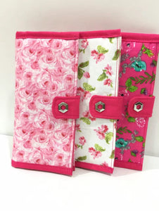 Red & pink series checkbook covers for all; Stylish checkbook covers for women