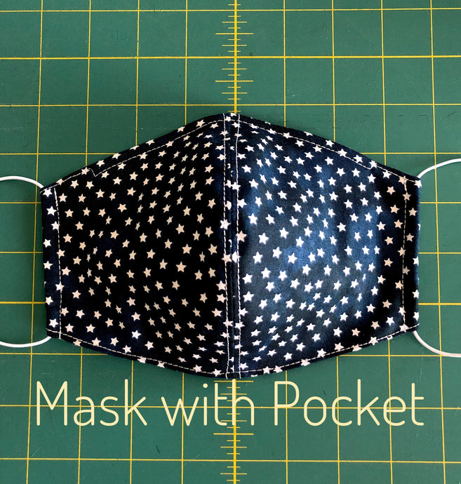 face mask with filter, face mask pattern; face mask with pocket. mask with filter