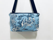 Load image into Gallery viewer, Cotton Crossbody Bags ; Double Zipper shoulder bags |BL Handmade