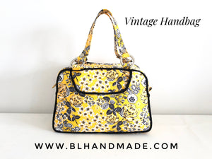 Floral Cotton Vintage Handbags |BL Handmade