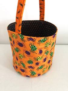 Trick-Or-Treat Bags Hallowen bags Candy bags Candy tote for kids; cotton handbags