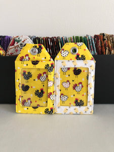 Pick any one fabric luggage tags; tags; ID tag;  airport luggage tags