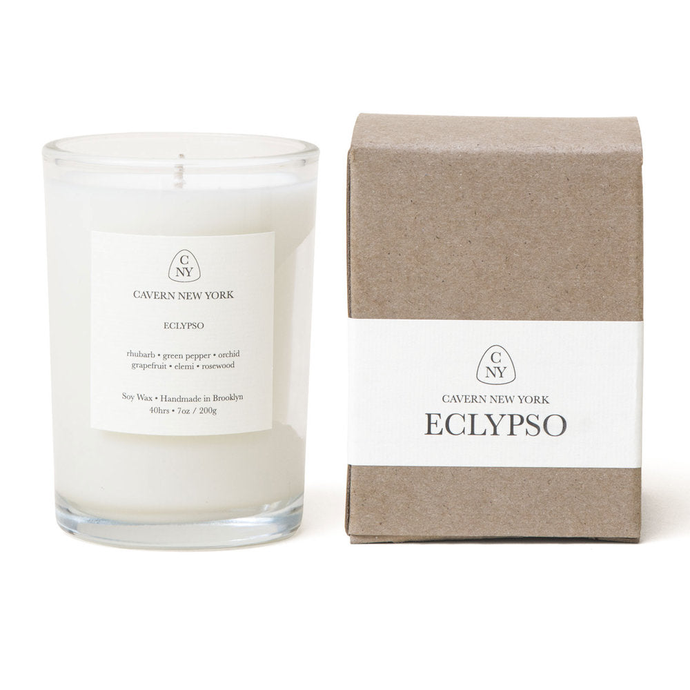 """Eclipso"" Soy Wax Candle by Cavern NY"