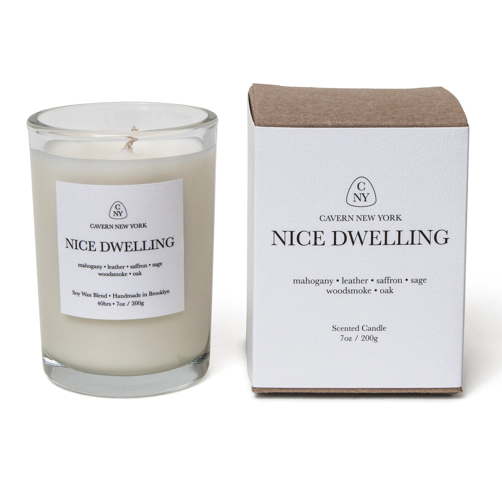 "Cavern ""Nice Dwelling"" Soy Wax Scented Candle"