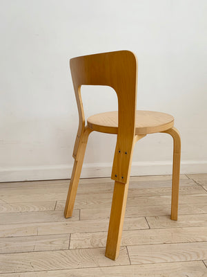 Vintage Alvar Aalto ICF 65 Chair in Birch