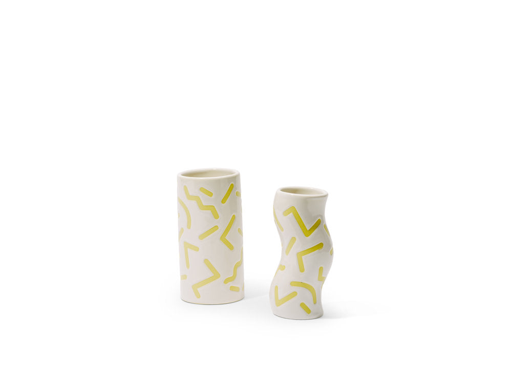 Ceramic Printed Vase by CKTC x Home Union