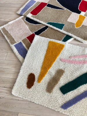 KJP x Home Union Moroccan Wool Limited Run Rug Design # 2