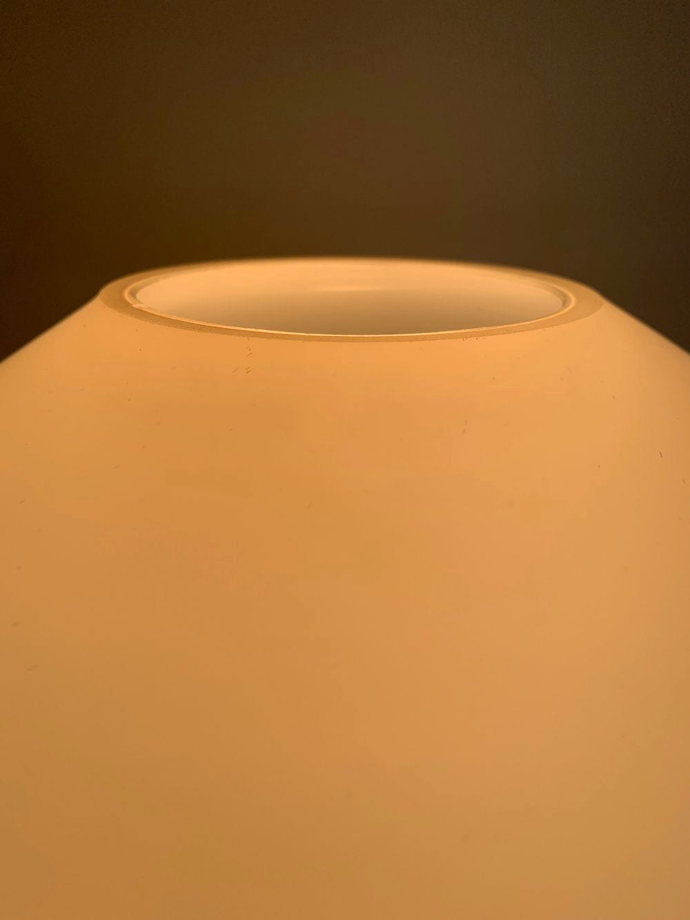 Mid Century Frosted Glass Lamp by Lisa Johansson-Pape