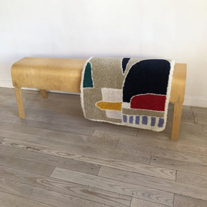 Vintage Bent Birch IKEA  Bench