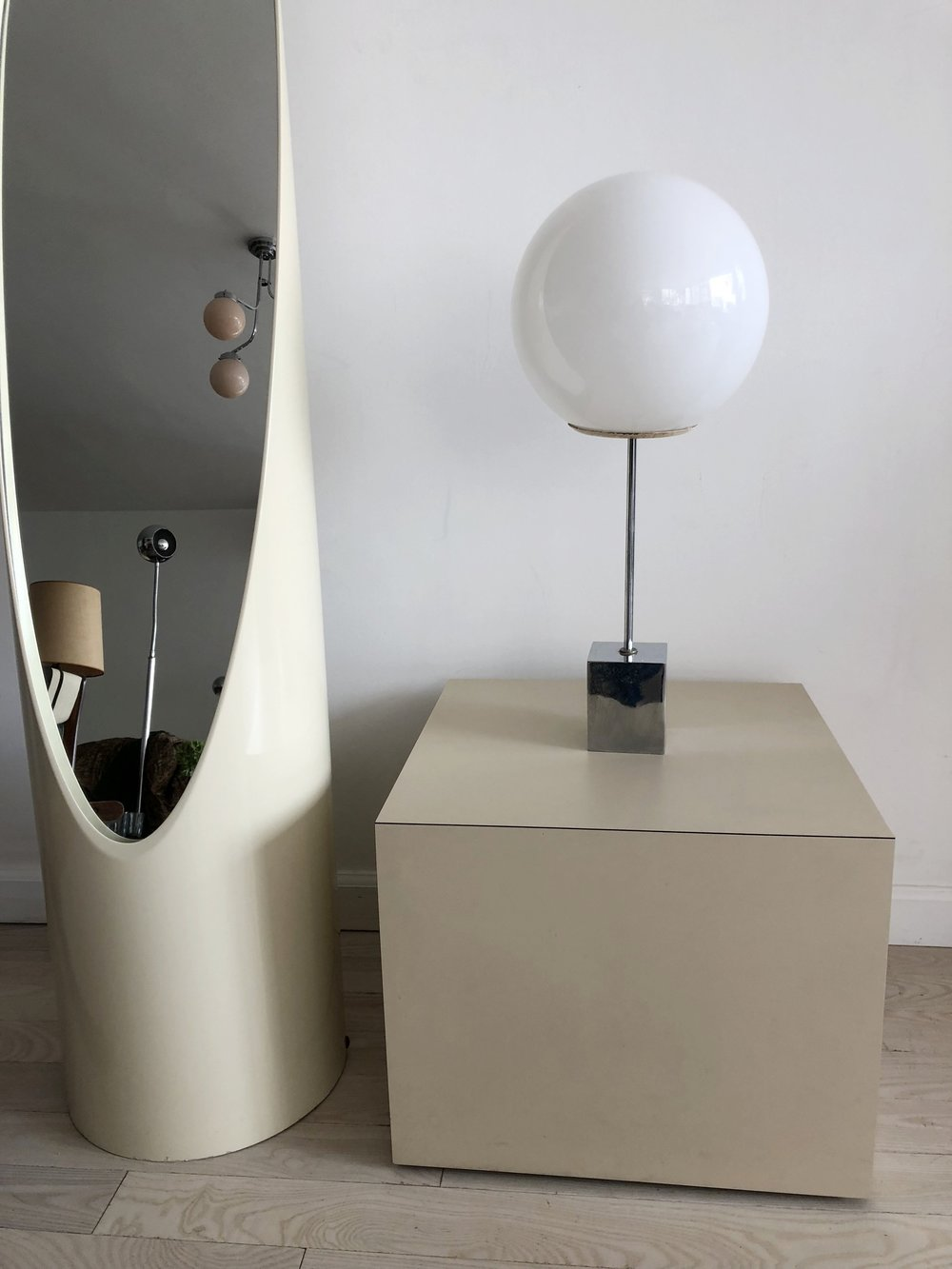1960s Robert Sonneman Lollipop Table Lamp