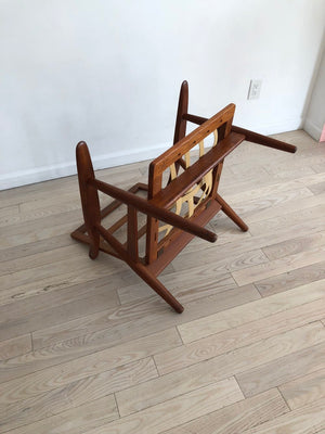 Early Hans J Wegner GE-270 Easy Chair in Teak, Made in Denmark