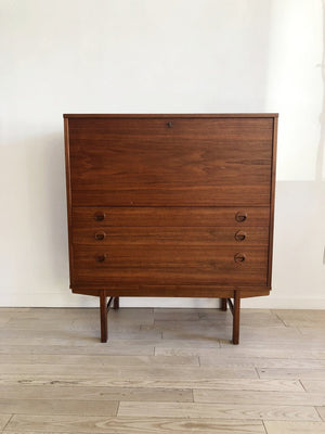 1960s Teak Secretary By Folke Olsson for Dux Sweden