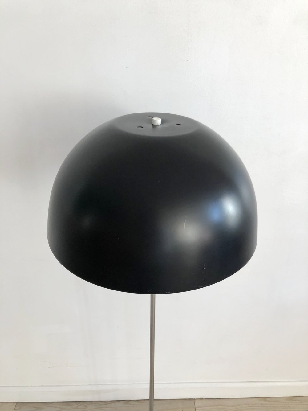 Mid Century Paul Mayen Chrome Mushroom Flood Lamp