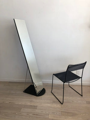 Postmodern Sleek Freestanding Floor Mirror