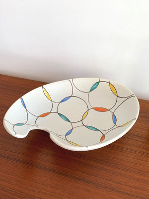 Mid century West German Ceramic Serving Dish