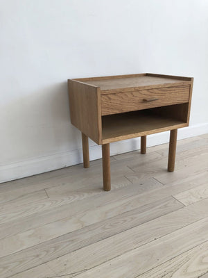 Mid-Century Oak Nightstand by Hans J. Wegner For Ry Mobler, Denmark
