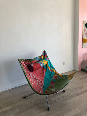 "Alberto Salviati and Ambrogio Tresoldi ""Miamina"" Chair for Saporiti in Missoni Memphis"