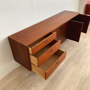 Mid Century Walnut Credenza By Founders