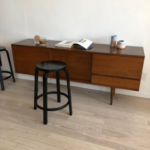 1950s Mel Smilow Walnut Record Credenza