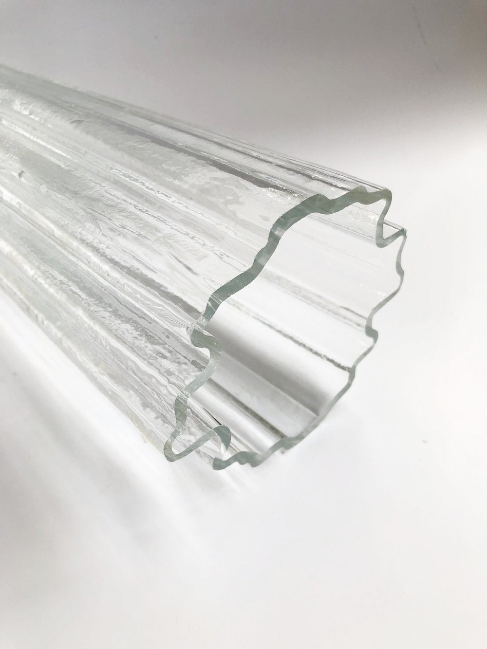 Iitala Glass Vase by Tapio Wirkkala Made in Finland